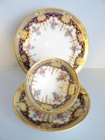 Cauldon Cup Saucer and Plate