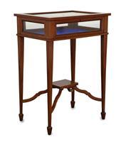 Mahogany & Inlaid Bijouterie Table