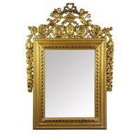 Rococo Gilt Wood & Gesso Framed Mirror