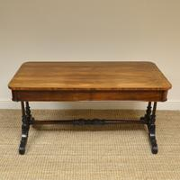 Beautiful Large Victorian Antique Rosewood Partners Writing Table