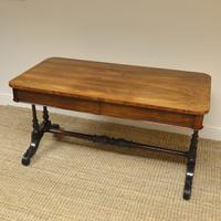 Beautiful Large Victorian Antique Rosewood Partners Writing Table (7 of 7)