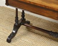 Beautiful Large Victorian Antique Rosewood Partners Writing Table (5 of 7)