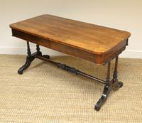Beautiful Large Victorian Antique Rosewood Partners Writing Table (2 of 7)