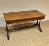 Beautiful Large Victorian Antique Rosewood Partners Writing Table (6 of 7)