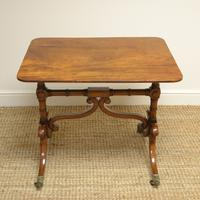 Fine Quality Mahogany Antique Sofa Table / Side Table