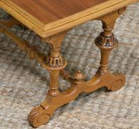 Unusual Pair of Small Victorian Walnut Antique Coffee Tables (6 of 6)