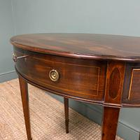 Elegant Victorian Mahogany Antique Workbox / Side Table (4 of 7)