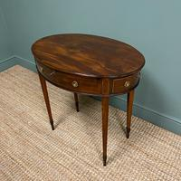 Elegant Victorian Mahogany Antique Workbox / Side Table (7 of 7)