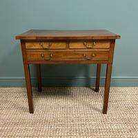 19th Century Mahogany Antique Lowboy / Side Table