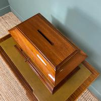 Striking Victorian Mahogany Antique Letter Box (2 of 5)
