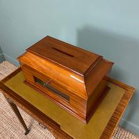 Striking Victorian Mahogany Antique Letter Box (4 of 5)