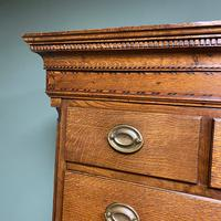Georgian Country House Antique Oak Chest on Chest (8 of 8)