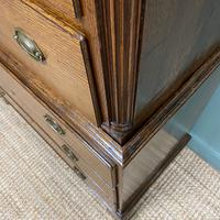 Georgian Country House Antique Oak Chest on Chest (7 of 8)