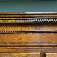 Georgian Country House Antique Oak Chest on Chest (4 of 8)