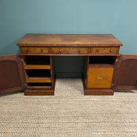 Country House Figured Mahogany Antique Victorian Pedestal Sideboard (8 of 8)