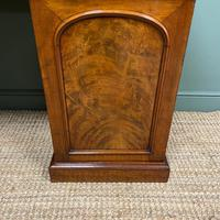 Country House Figured Mahogany Antique Victorian Pedestal Sideboard (6 of 8)
