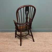 Victorian Country Oak Antique Windsor Chair (4 of 8)