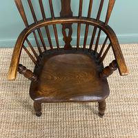 Victorian Country Oak Antique Windsor Chair (6 of 8)