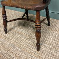 Victorian Country Oak Antique Windsor Chair (2 of 8)
