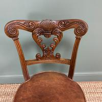 Spectacular Quality Mahogany Antique Revolving Music Chair (5 of 7)