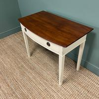 Country Painted Victorian Antique Side Table (5 of 6)