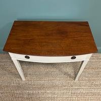 Country Painted Victorian Antique Side Table (4 of 6)