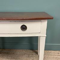 Country Painted Victorian Antique Side Table (3 of 6)