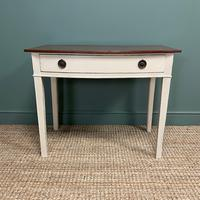 Country Painted Victorian Antique Side Table (6 of 6)