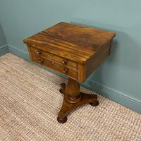 Elegant Victorian Mahogany Antique Occasional Side / Lamp Table (6 of 7)