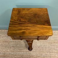Elegant Victorian Mahogany Antique Occasional Side / Lamp Table (5 of 7)