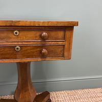 Elegant Victorian Mahogany Antique Occasional Side / Lamp Table (4 of 7)