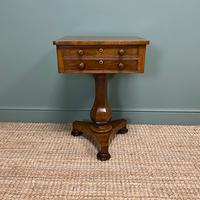 Elegant Victorian Mahogany Antique Occasional Side / Lamp Table (2 of 7)