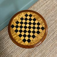 High Quality Victorian Mahogany Antique Drafts Table / Chess Table (2 of 7)