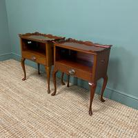 Pair of Edwardian Mahogany Antique Bedside Tables / Cabinets by Morison & Co (3 of 8)
