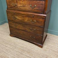 Georgian Mahogany Antique Chest On Chest (4 of 9)