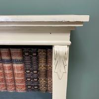 Quality Victorian Painted Antique Open Bookcase (5 of 5)