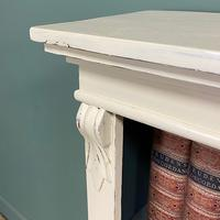 Quality Victorian Painted Antique Open Bookcase (4 of 5)