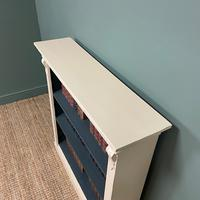 Quality Victorian Painted Antique Open Bookcase (3 of 5)