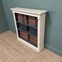 Quality Victorian Painted Antique Open Bookcase (2 of 5)