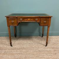 Spectacular Maple & Co Rosewood Victorian Antique Writing Desk