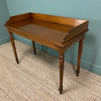 Quality Victorian Mahogany Antique Side / Writing Table (6 of 6)