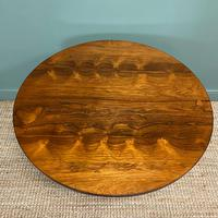Spectacular Victorian Rosewood Antique Circular Centre Table (4 of 9)