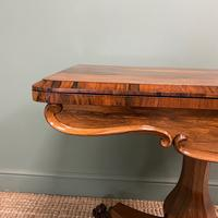 Spectacular William IV Rosewood Antique Card Table (7 of 10)