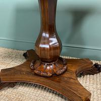 Spectacular William IV Rosewood Antique Card Table (5 of 10)