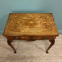 Rare 18th Century Dutch Marquetry Inlaid Antique Games Table. (3 of 11)