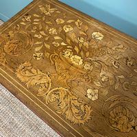 Rare 18th Century Dutch Marquetry Inlaid Antique Games Table. (8 of 11)