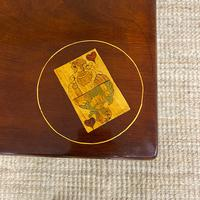 Rare 18th Century Dutch Marquetry Inlaid Antique Games Table. (9 of 11)