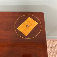 Rare 18th Century Dutch Marquetry Inlaid Antique Games Table. (10 of 11)