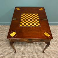 Rare 18th Century Dutch Marquetry Inlaid Antique Games Table. (11 of 11)