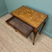 Rare 18th Century Dutch Marquetry Inlaid Antique Games Table. (5 of 11)